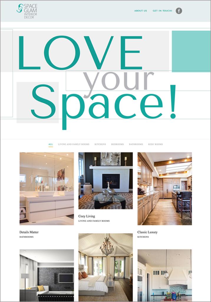 spaceglam decor website