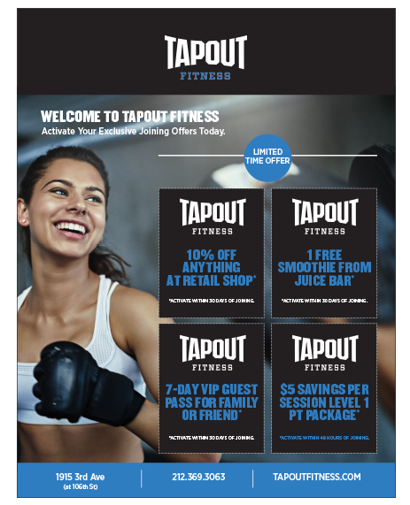Tapout Fitness email